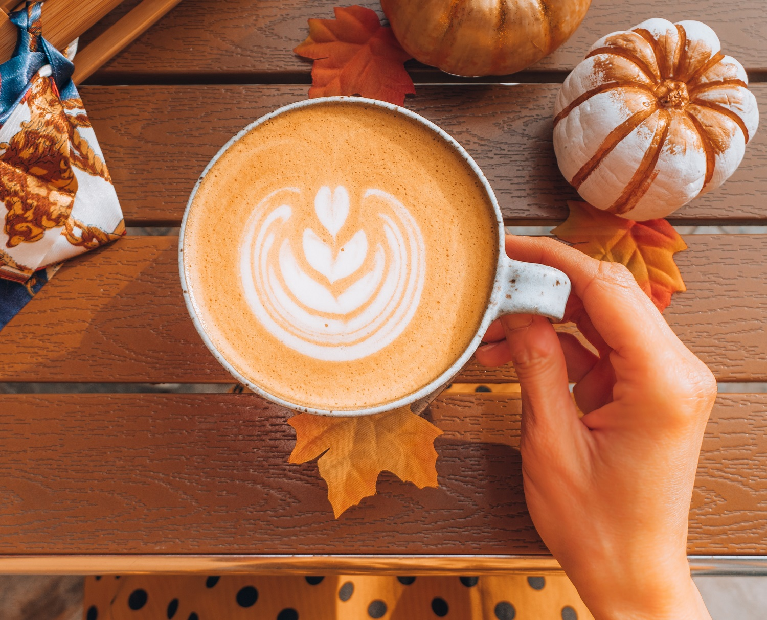 Easy pumpkin latte recipe